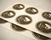 From the Heart - Envelope Seal Stickers