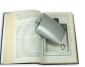 SneakyBooks Recycled Hollow Book Hidden Flask Diversion Safe (Flask Included) by Greenfire Products