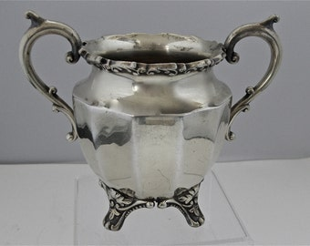 Benedict Silverplate Waste or Sugar Bowl