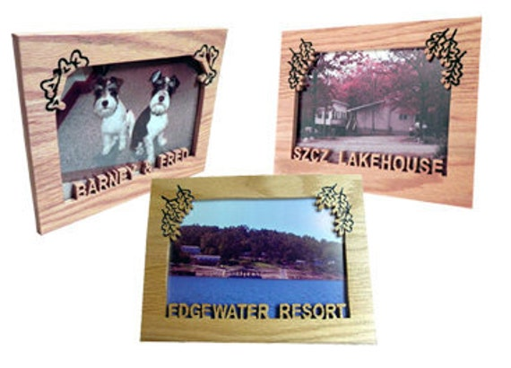 Custom Cut-Out Picture Frames