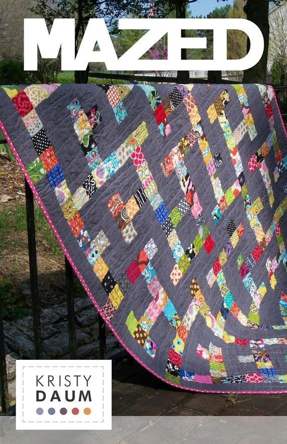MAZED - Quilt Pattern
