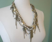 SALE - Twisted Statement Necklace