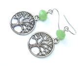 Tree of Life Earrings - Summer