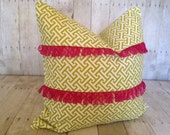 """PRETTY N PINK:  20"""" X 20"""" Accent Pillow Cover"""