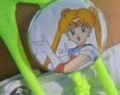 Sailor Moon Action Pose Button