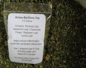 Aches-Be-Gone Custom Blend Herbal Tea with White Willow Bark