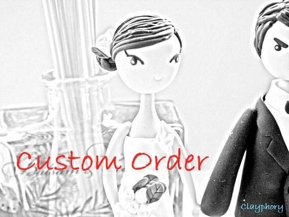 Cusrtom order for Kylee Arnold