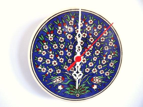 tree of life ceramic wall clocks