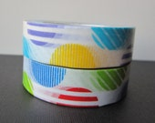Washi tape 2P MT Kamoi Japanese for Decoration & Crafts  -Arch Red / Blue