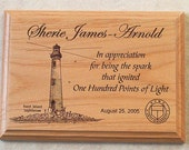 "Laser Engraved Plaque 5"" x 7"""