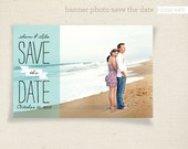 Banner Photo Save the Date (Printable)