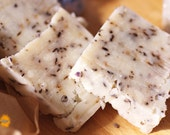SALE Last few bars-Luscious Lavender and Rosemary soap bar - all natural traditional hot process soap