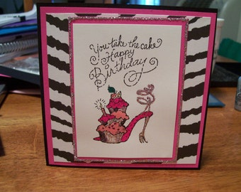 "5"" x5"" Birthday Card"