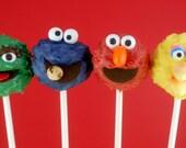 Sesame Street Cake Pops-Made to order 3 dozen