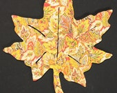 """The Maple Leaf - a tricky little puzzle with an """"Extra Twist"""" - 125 piece Wooden Jigsaw Puzzle from BCB Puzzles"""