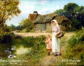 A Walk in the Country by Henry John Yeend King - a 250 piece Wooden Jigsaw Puzzle from BCB Puzzles