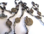 Seven Sorrows Antique Rosary c. 1800's