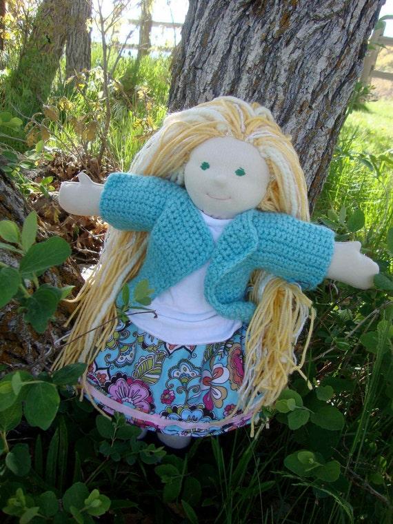 Alana- A Waldorf Style Doll