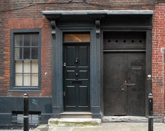 Historic House in Princelet Street, London  Fine Art Photograph 5 x 5 inches limited edition print