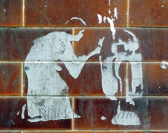 Star Wars Stencil Street Art , London  Fine Art Photograph limited edition print