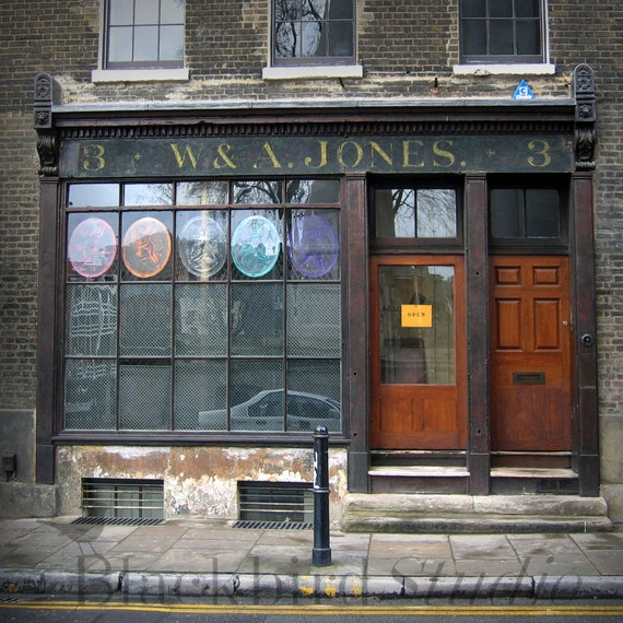 W & A Jones Shop in Fournier Street, London  Fine Art Photograph 5 x 5 inches limited edition print