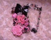 Beautiful Bling Case Iphone 2g 3gs 4g/4s So Elegant Sexy Style Barbie Theme -Custom Order Available ANy Models