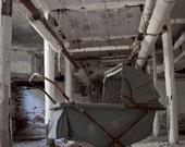 New England State Hospital for the Criminally Insane - 16x20 Metallic fine art print
