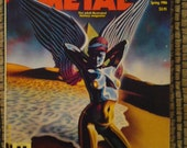 HEAVY METAL The adult illustrated Fantasy magazine Spring 1986