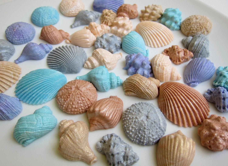 how to make edible seashells for a cake