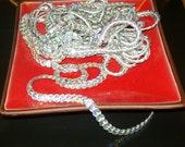 Silver Iridescent Sequin Trim, Silver Trim