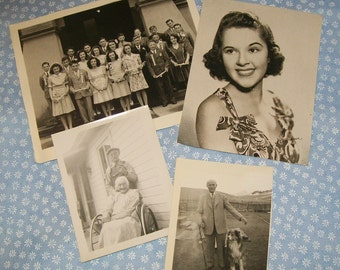 Vintage Photos Paper Ephemera