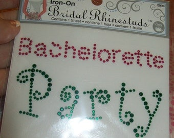 Iron-On Bachelorette Party, Bachelorette Iron-On, Party Iron-On