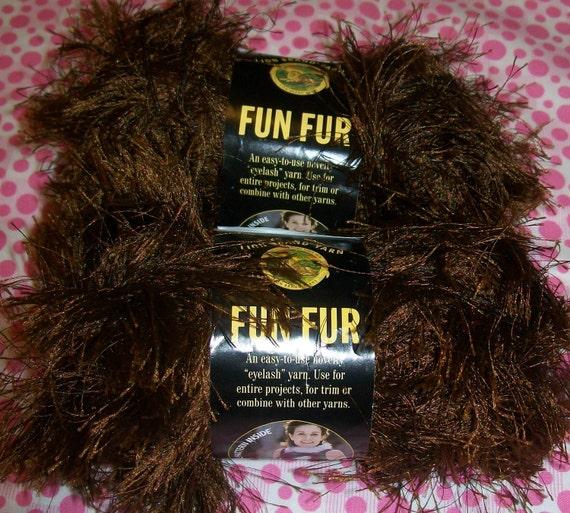 Chocolate Fun Fur, Dark Brown Fun Fur