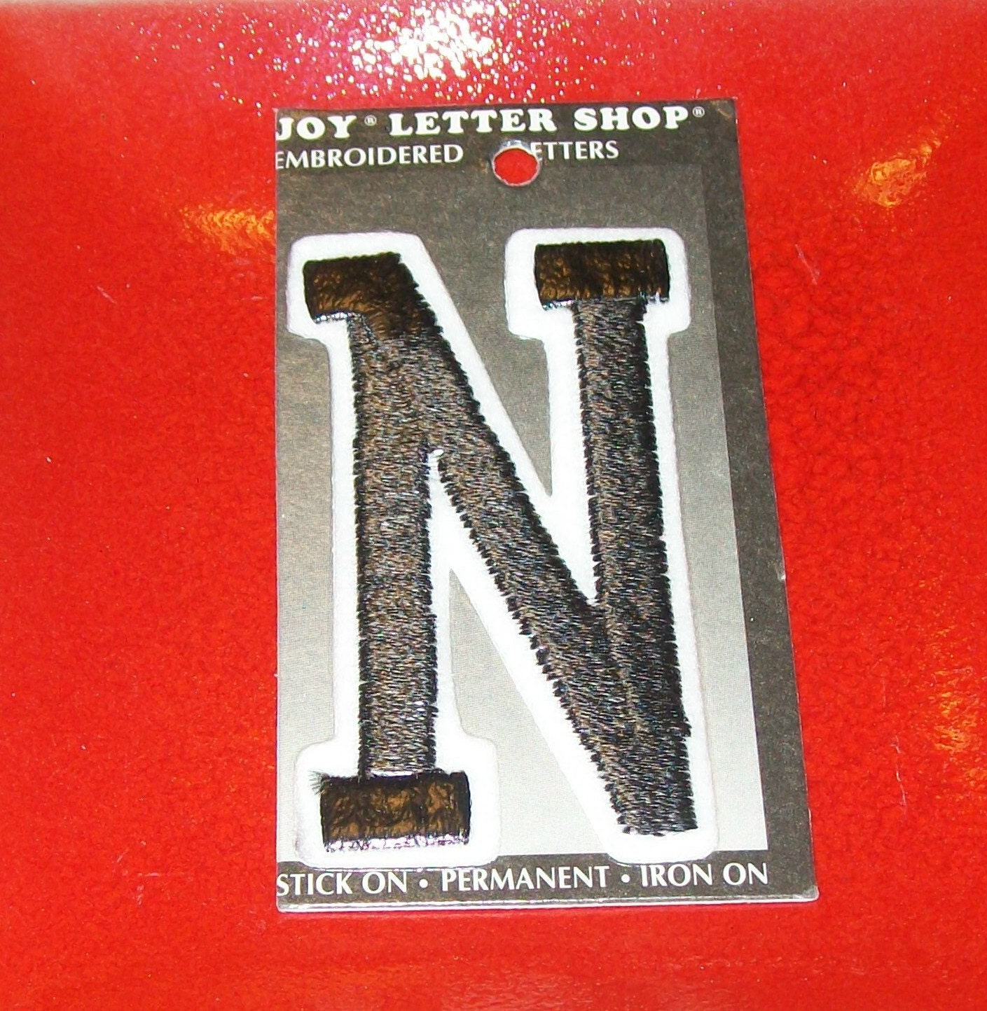 joy letter shop iron on embroidered letter by With joy letter shop iron on letters