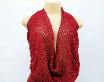 Crochet Crawl neck alter top
