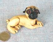 Pug-Small Sculpture-Figure-Statue