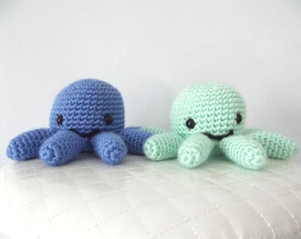 Crochet Octopus Pattern Crochet Pattern Octopus Toy Octopus Stuffed Animal Amigurumi Octopus Sea Creature Ocean Animal Instant Download