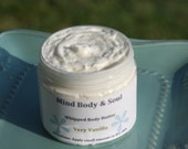 Custom Listing for Kristi Thank You WHIPPED BODY BUTTER All Natural Whipped Shea Body Butter