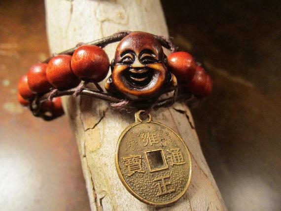 Lucky Buddha charm bracelet