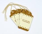 Wedding Favor Gift Tags - Set of 25