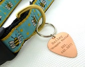 Engraved Copper Pet Tag - Id Tag - Personalized- Husband gift,  Husband, boyfriend, Anniversary