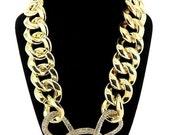 GoldenLinks Crystal Necklace