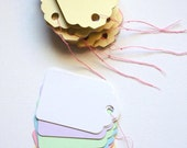 Pastel Paper Gift Tags (126pc)