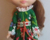 Rare KENNER BLYTHE Redhead side-part Doll 1972 with Original Dress Vintage Collectable Price REDUCED :)