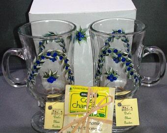 Blueberry Mug Set