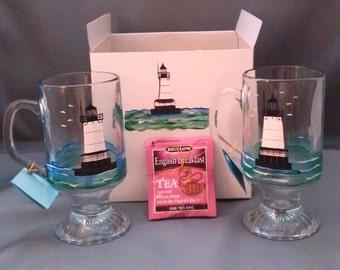 Lighthouse Mug Set