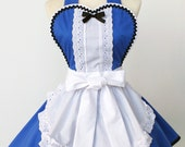 Alice in Wonderland Apron -Made to Order