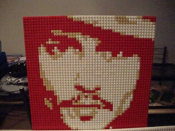 Johnny Depp Custom LEGO Mosaic