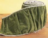 """Ruche Ribbon j7124,  j7121 3"""" black velvet,j7136 4"""" creme Silk, j71212 5"""" taupe velvet, j71215 3"""" grey velvet"""