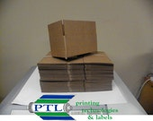 """25 SMALL SHIPPING BOXES 4 3/8"""" x 2 3/4"""" x 2 3/4'"""